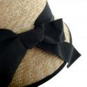 Casquette plate Jockey bicolore en laine ou en lin