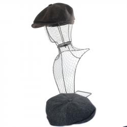 Canne téléscopique assise en cuir