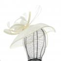 Coustillieres Gaby - Chapeau femme de cérémonie en sisal - GABY328 - 119,80 € - Falbalas st junien