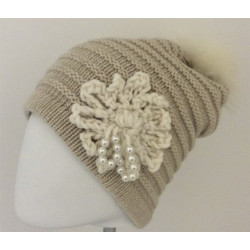 Gant mitaine pour homme en agneau crochet coton - 411PAND - 69,50 € - Falbalas st junien