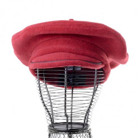 Gants entiers femme en agneau doublé laine cachemire, fermeture par pression - 220PACA - 79,50 € - Falbalas st junien