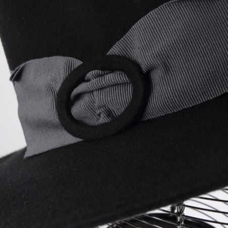 Stetson Teton chapeau homme en coton noir - TETON1111101 - 67,50 € - Falbalas st junien