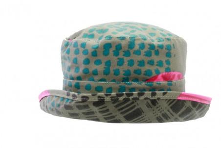 Chapeau mixte grand bord motifs « Prince de Galles » anti-UV Chapeaux homme 64,80 €