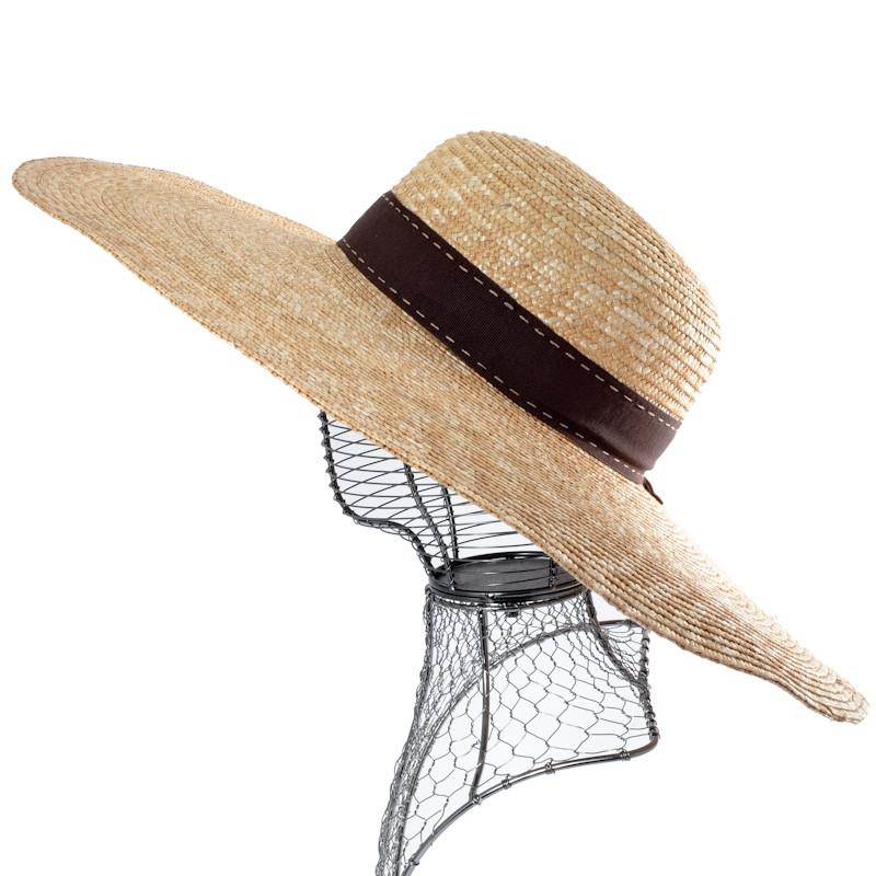 CHAPEAU EN LAINE BOUILLIE BORD RELEVE AUREGA Chapeaux femme 49,40 €