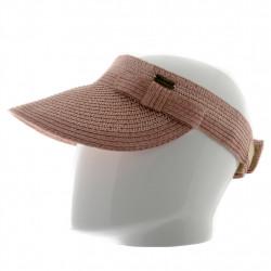 Chapeau capeline de cérémonie en sisal avec noeud en satin - 1913 - 119,20 € - Falbalas st junien