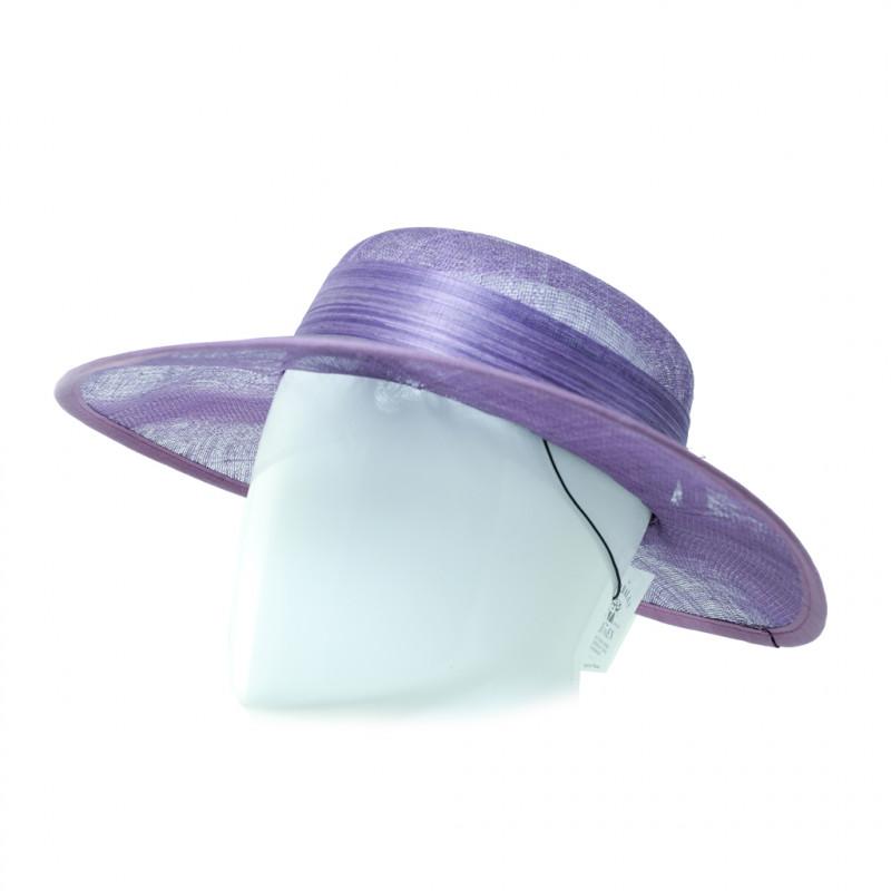 Chapeau capeline de cérémonie en sisal - 1903 - 139,20 € - Falbalas st junien