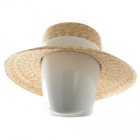 Soway chapeau mixte anti-uv grands bords balnc beige - 718BGB - 64,60 € - Falbalas st junien